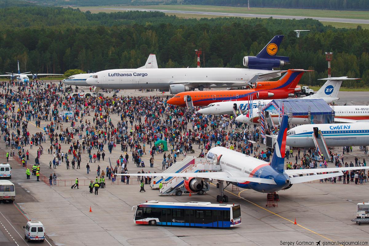 День воздушного флота в Красноярске
