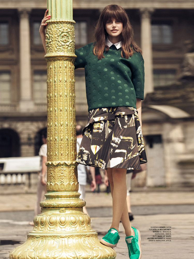 Сандра Найда (Sandra Najda) в журнале Glamour Poland