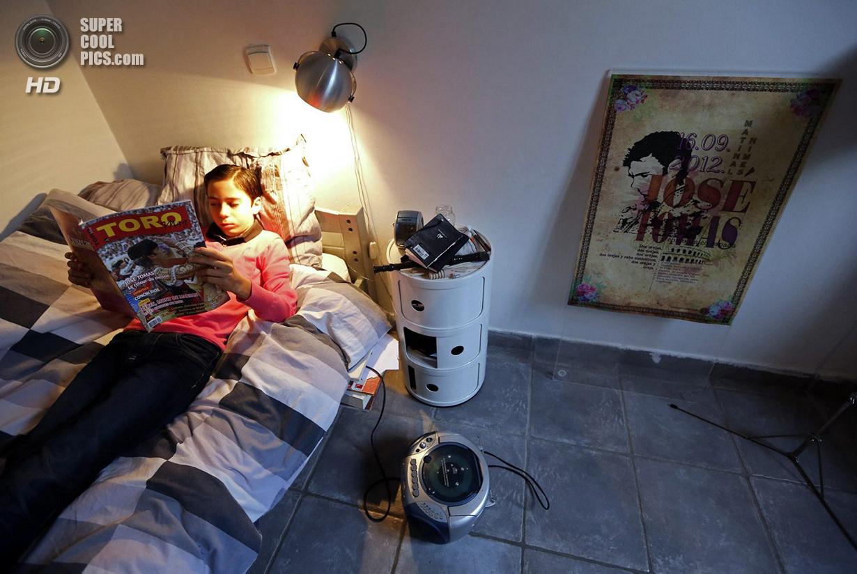 Детский кружок тавромахии во Франции