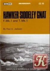 Книга Hawker Siddeley Gnat F.Mk.1 and T.Mk.1 (Aviation News Mini-Monograph)