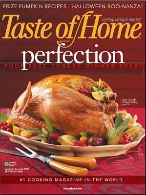 Журнал Журнал Taste of Home №10-11 (октябрь-ноябрь 2008)