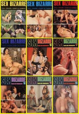 Журнал Sex Bizarre №12-20 (1975-77)