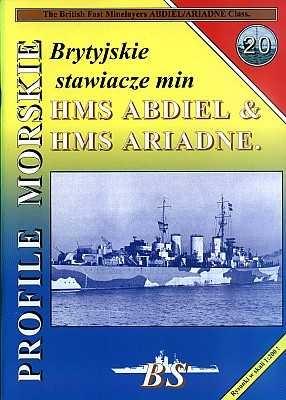 Книга Brytyjskie stawiacze min HMS ABDIEL & HMS ARIADNE