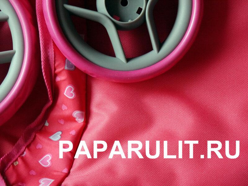 Коляска кукольная розовая.jpg