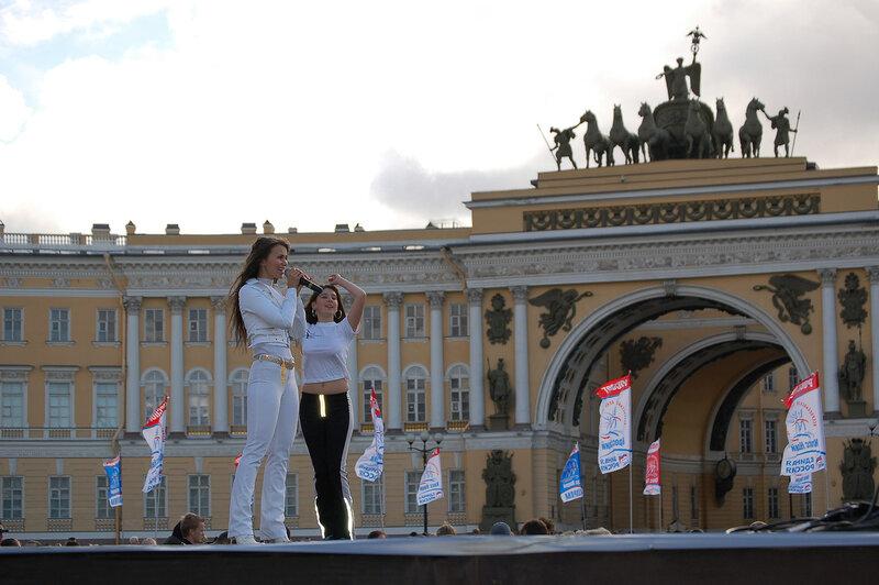 Олия (певица) На Дворцовой