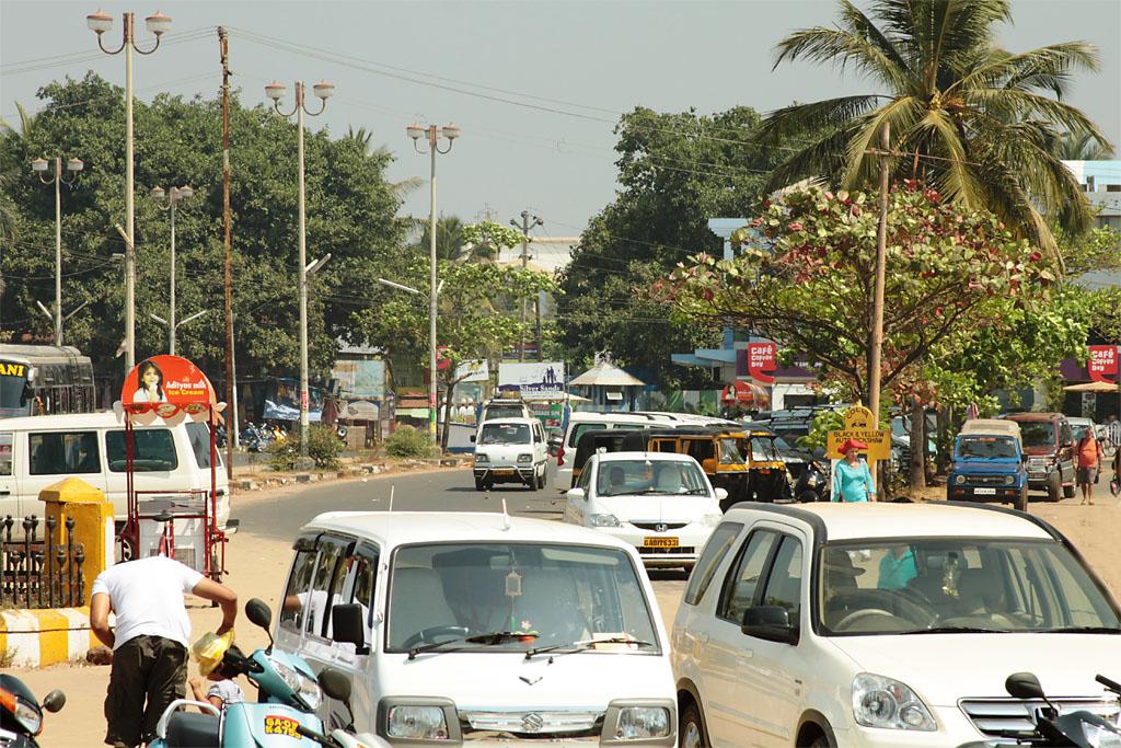 Фото 6. Туры в Индию. На улицах Гоа