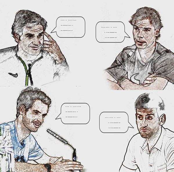Australian Open, Энди Маррей, Роджер Федерер, Новак Джокович, Рафаэль Надаль