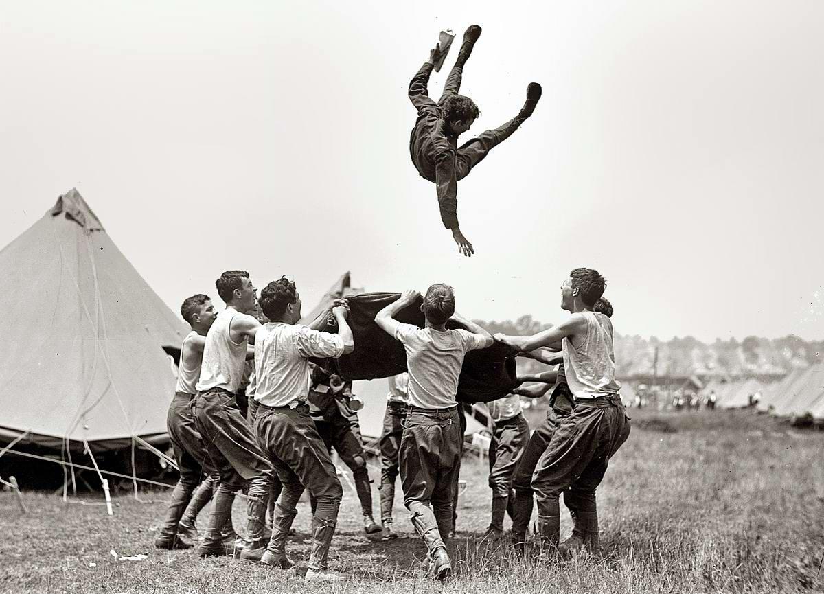 Американские бойскауты начала 20-го века на снимках фотографов (14)