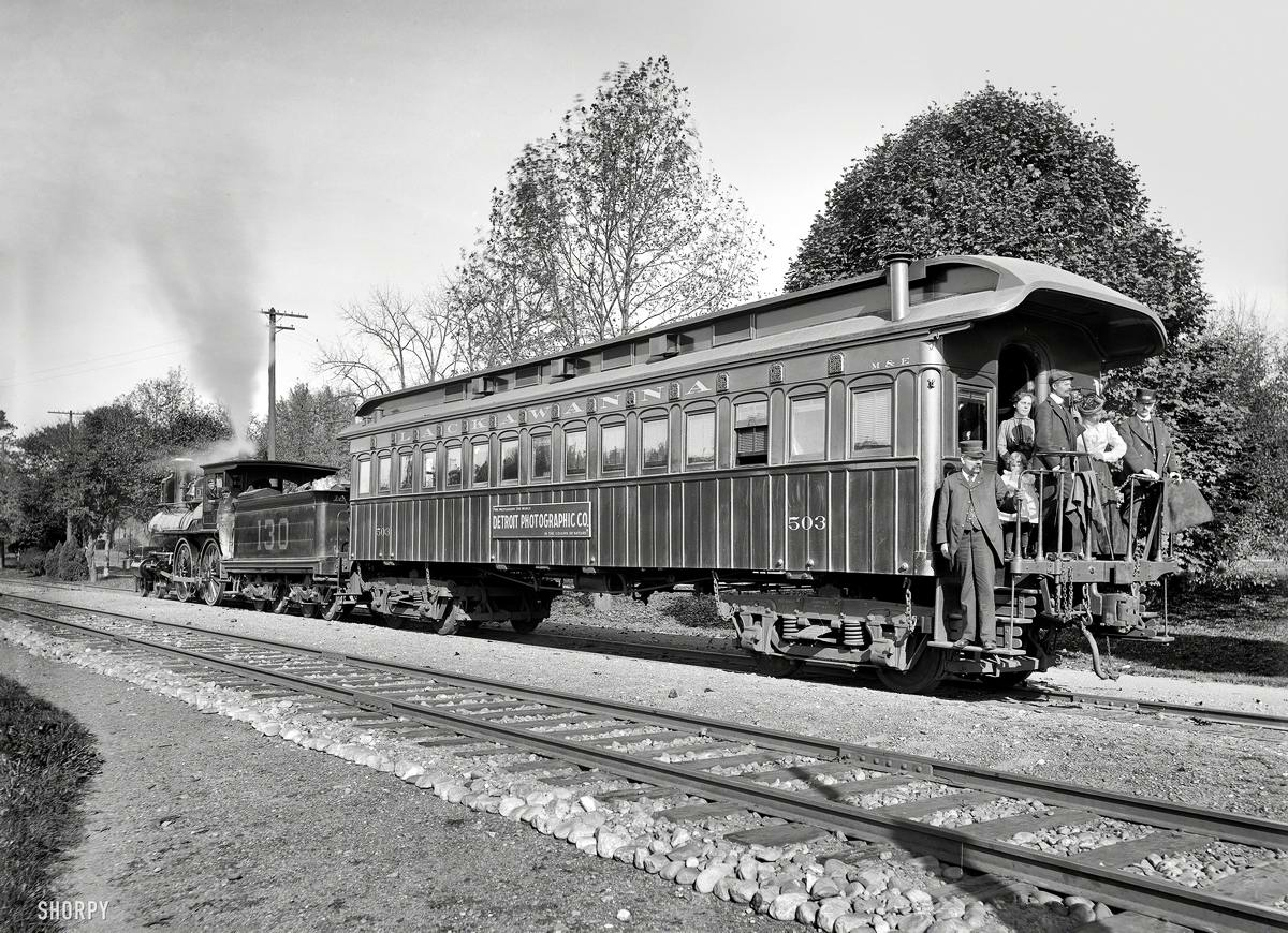 Железные дороги конца 19-го - начала 20-го века на снимках американских фотографов (26)