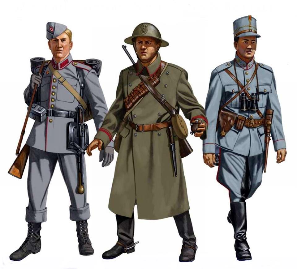Противники нацистской Германии в 1940 году: Дания, Норвегия, Нидерланды и Бельгия
