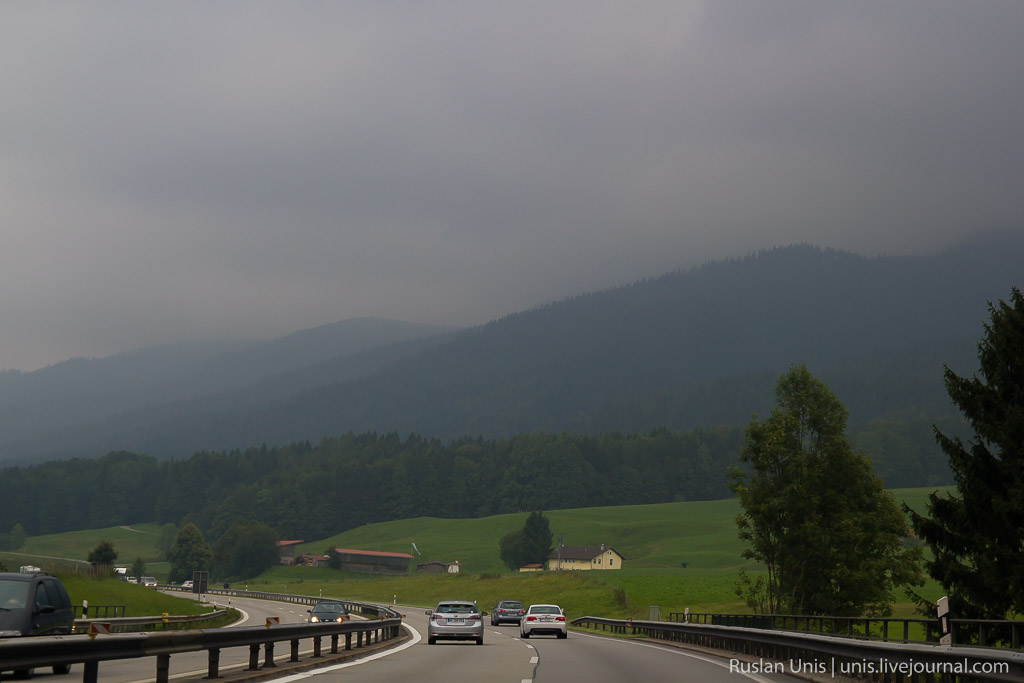 Автомобильное путешествие по Австрии