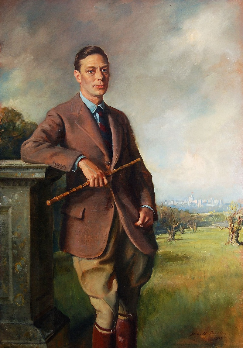 Sir Oswald Birley (1880-1952) - Portrait of King George VI