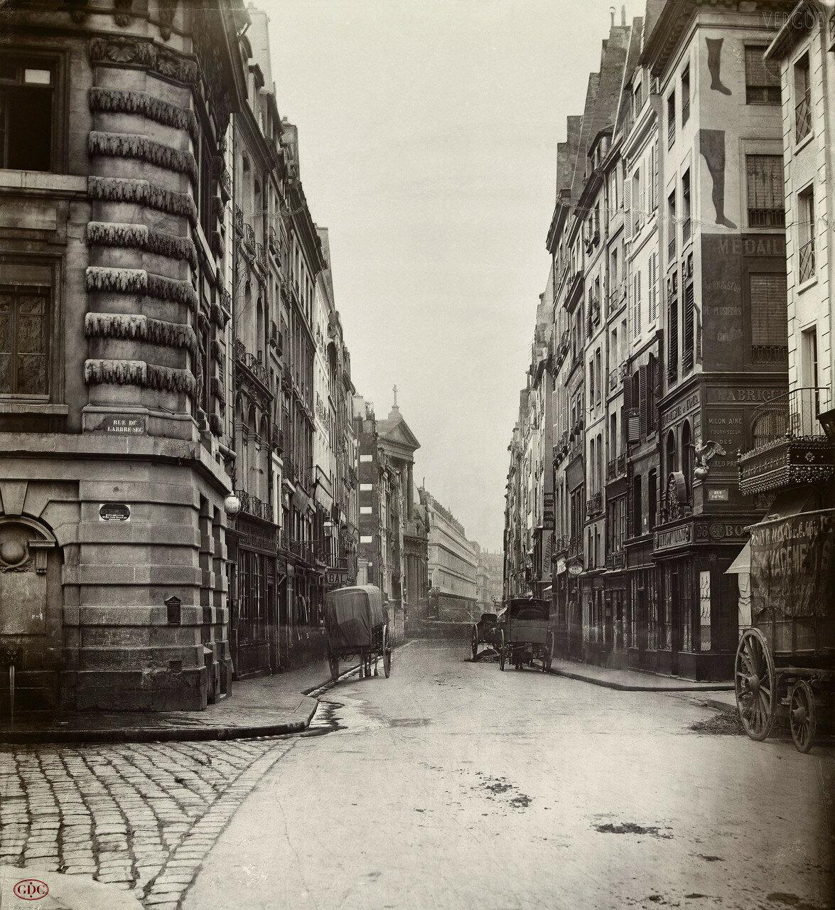 Рю Сент-Оноре. 1868