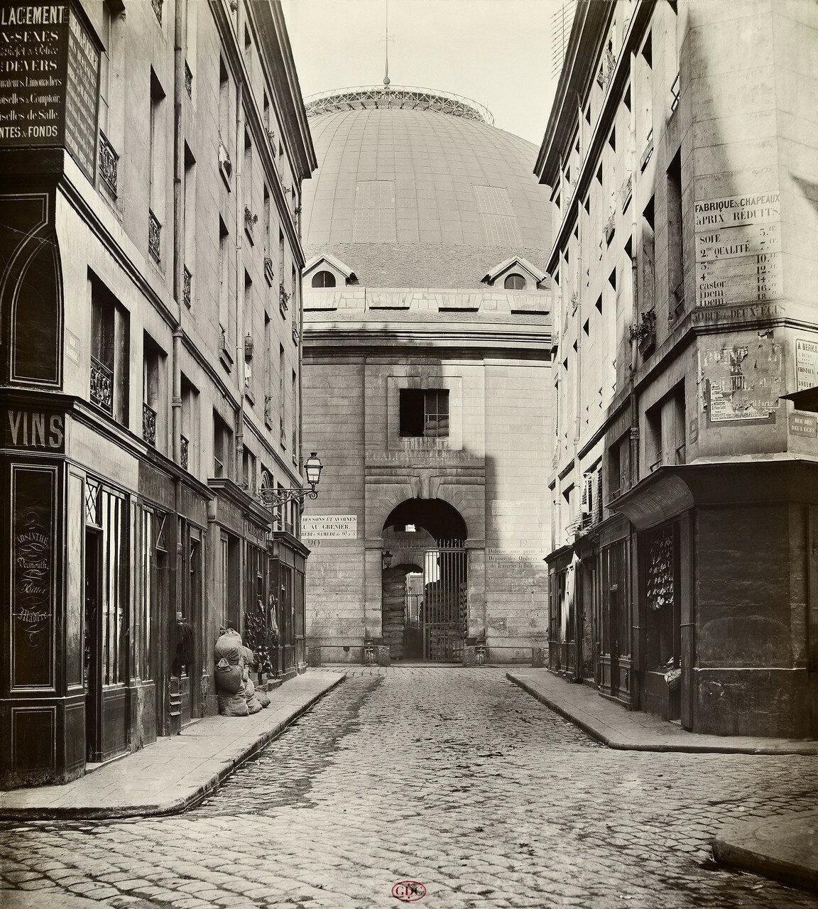 Рю Бабилле. 1868