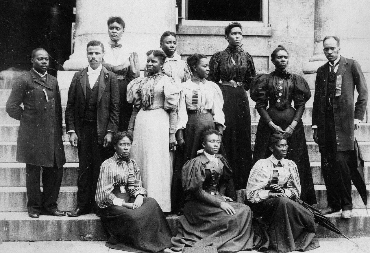 1890. Группа студентов института Таскиги в Алабаме