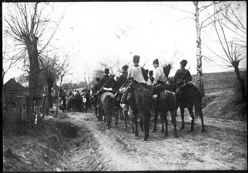 1919. Казачий патруль
