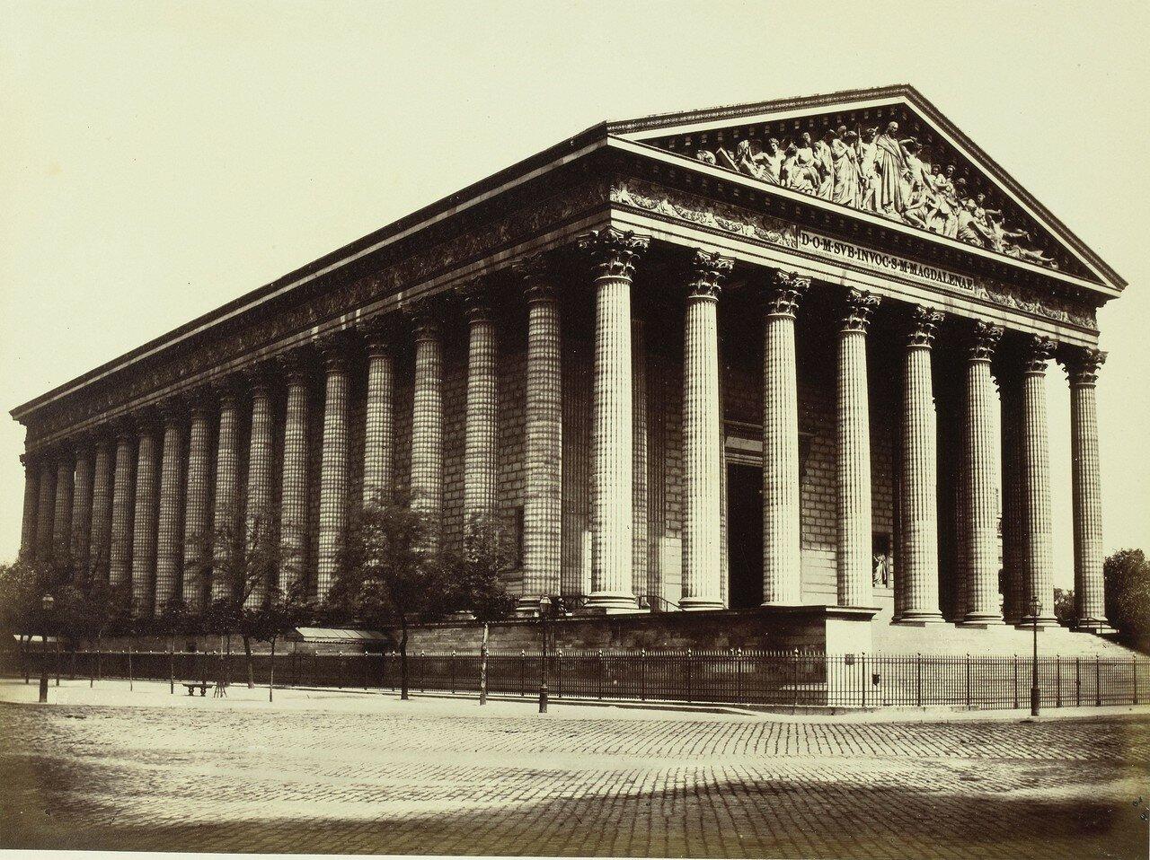1850-е. Церковь Мадлен