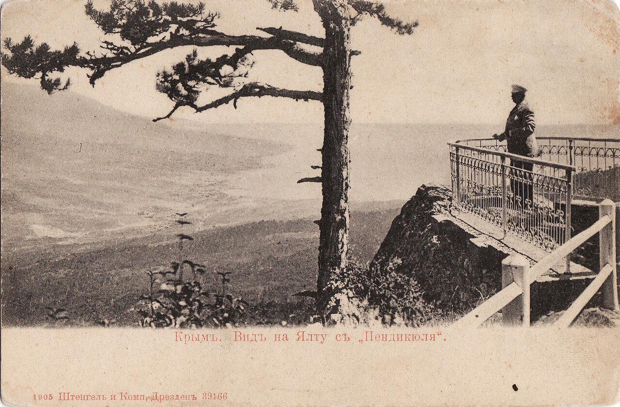 Вид на Ялту с Пендикюля