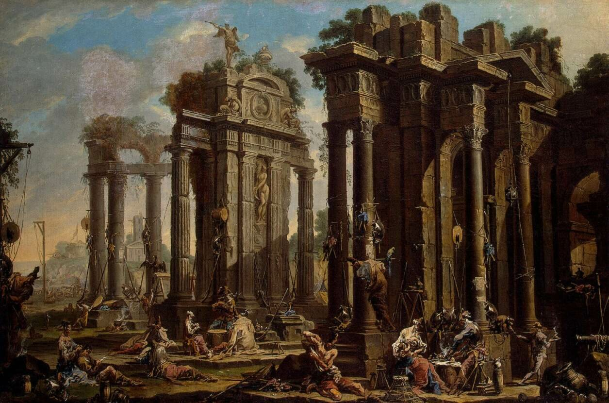 Alessandro_Magnasco_-_Halt_of_the_Brigands_-_WGA13844 1710-е.jpg