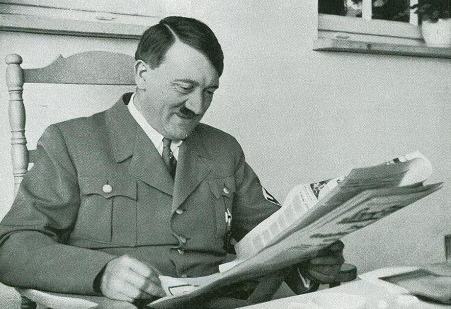 Чтение утренней прессы.