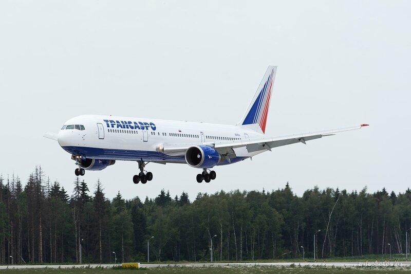 Boeing 767-36N/ER (EI-RUU) Трансаэро D806399
