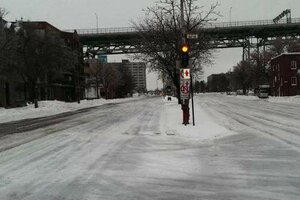 В Канаде прошли ледяные дожди – 150 тыс. домов без света