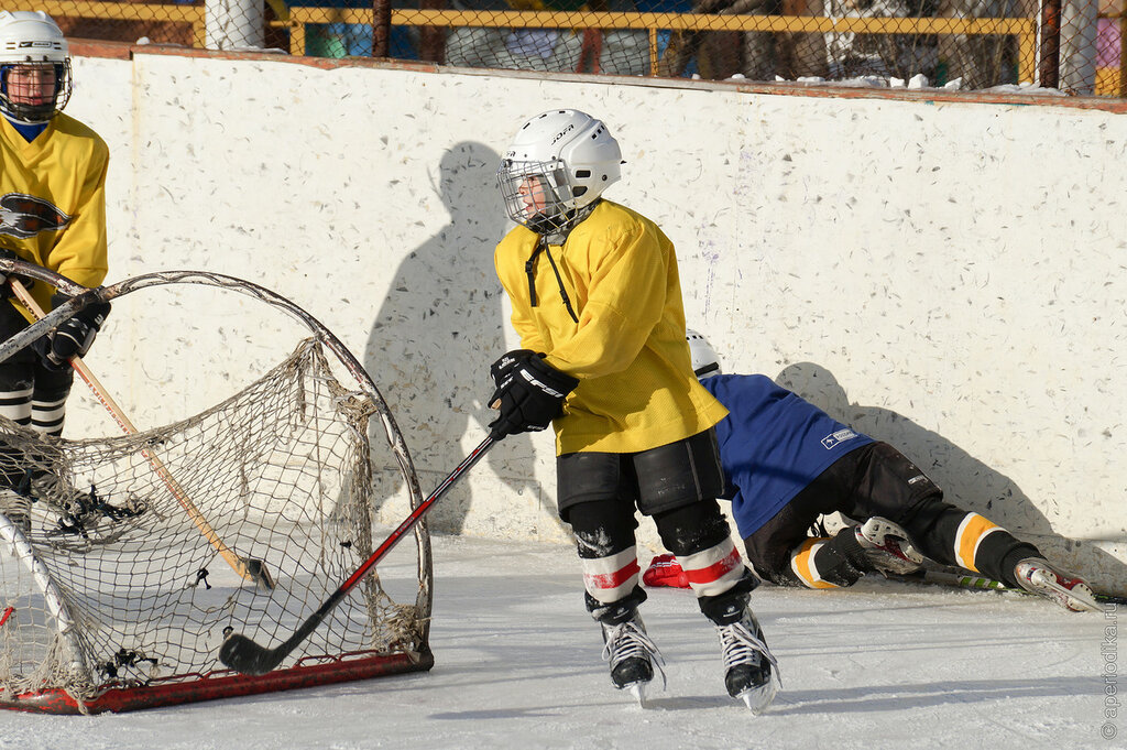 Златоуст. Детский хоккей