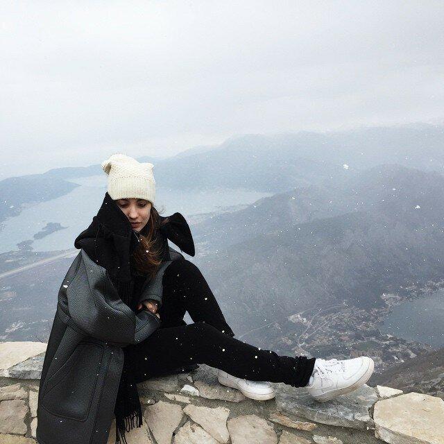 Виктория Дайнеко в Черногории
