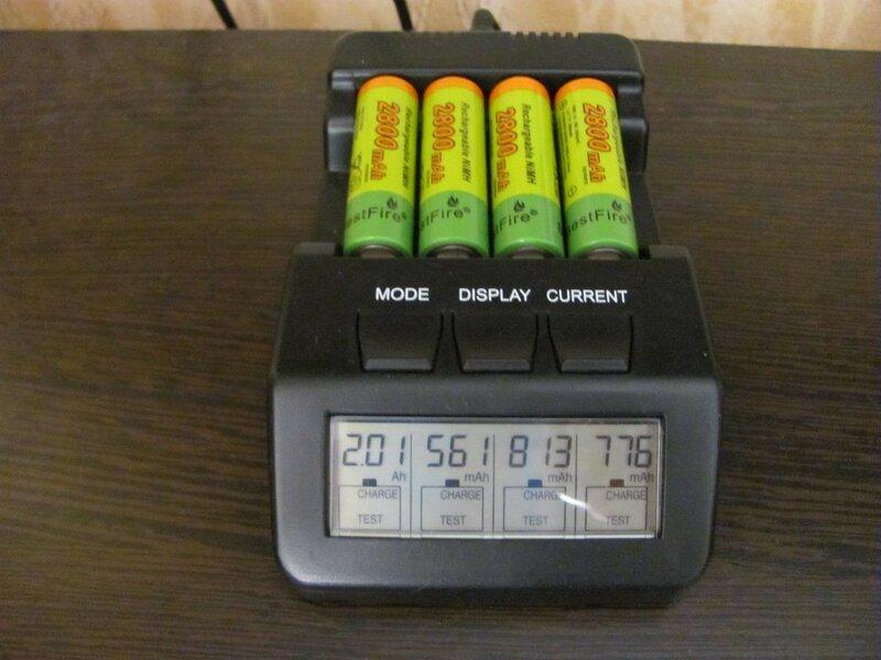 ChinaBuye: Ni-Mh аккумуляторы BestFire 2800 mAh типа АА и 800 mAh типа ААА