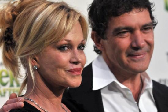 Мелани Гриффит подала на развод с Антонио Бандеросом
