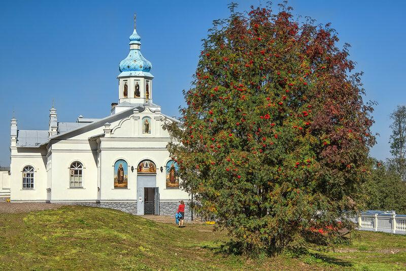 Осенью в монастыре