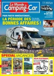 Журнал Le Monde du Camping Car №253 2013