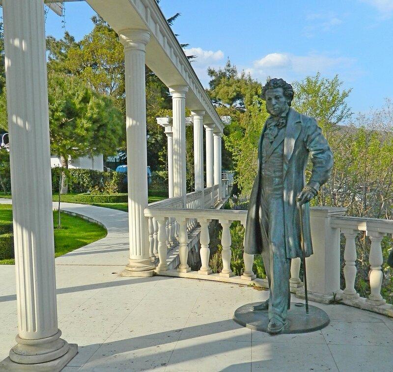 Пушкин в парке!