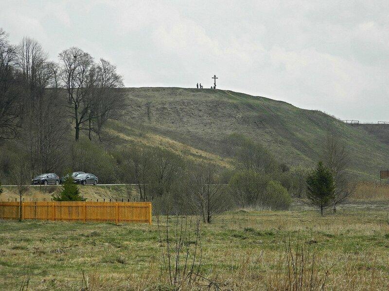 Александрова гора. Поклонный крест.