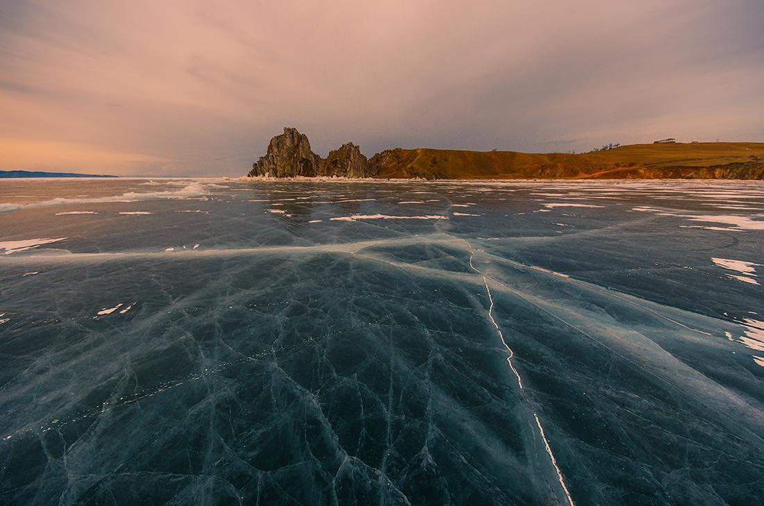 Бурхан, вид с моря