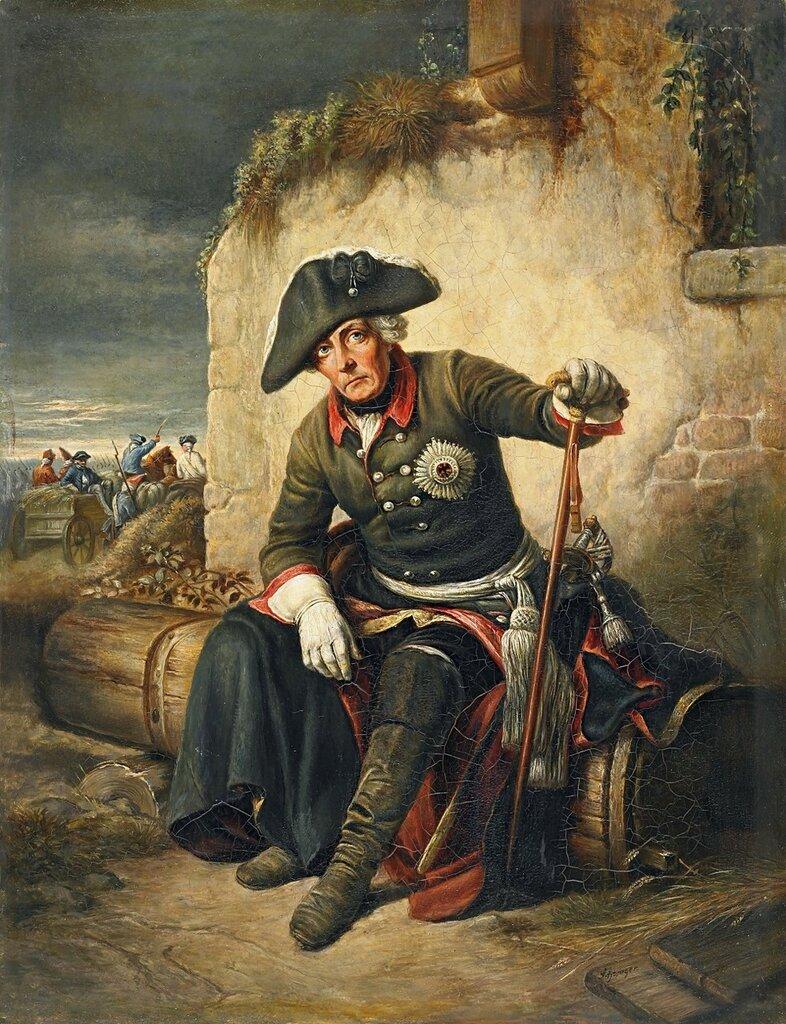 Friedrich der grosse by Richard Schwager