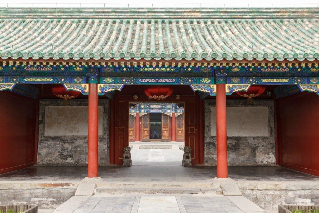 Вторые ворота в Гунванфу, Пекин