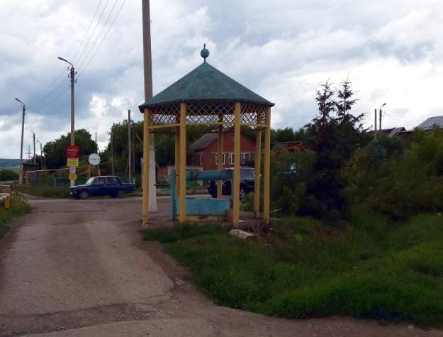 Село Урсала, святой ключ