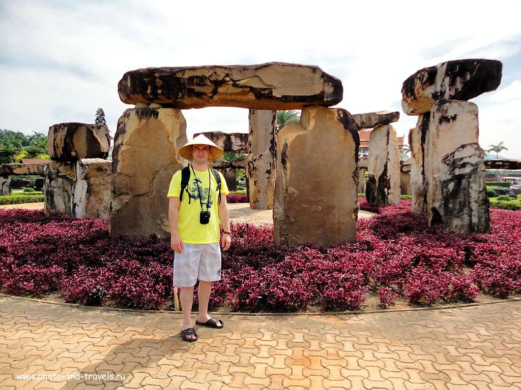 """8. В ботаническом саду """"Нонг Нуч"""" в Паттайе можно найти даже свой Стоунхендж (Stonehenge). Отчеты туристов об отдыхе в Таиланде самостоятельно."""