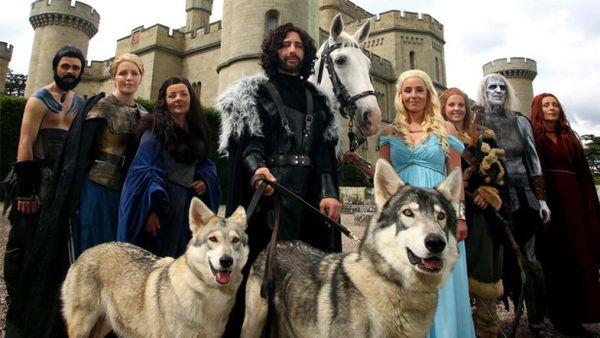 Свадьба в стиле «Игры престолов»