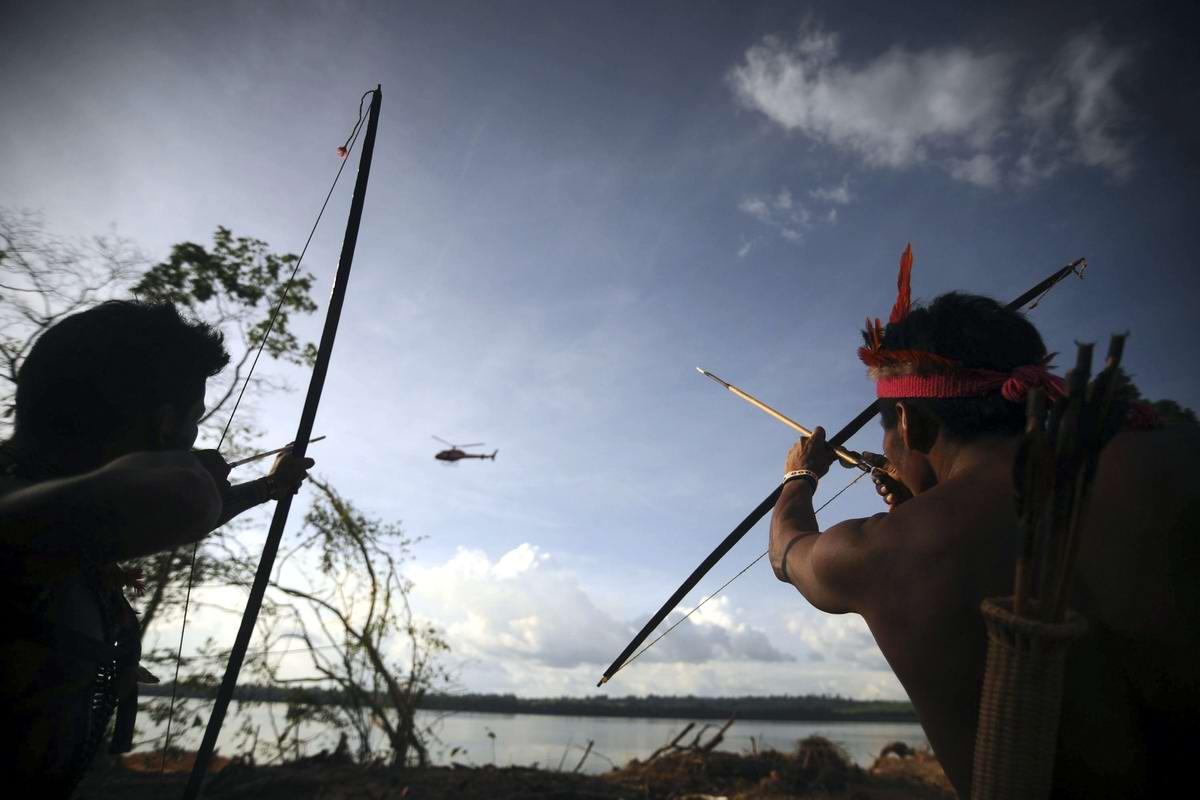 Охота в Амазонии - Ну очень крупная дичь