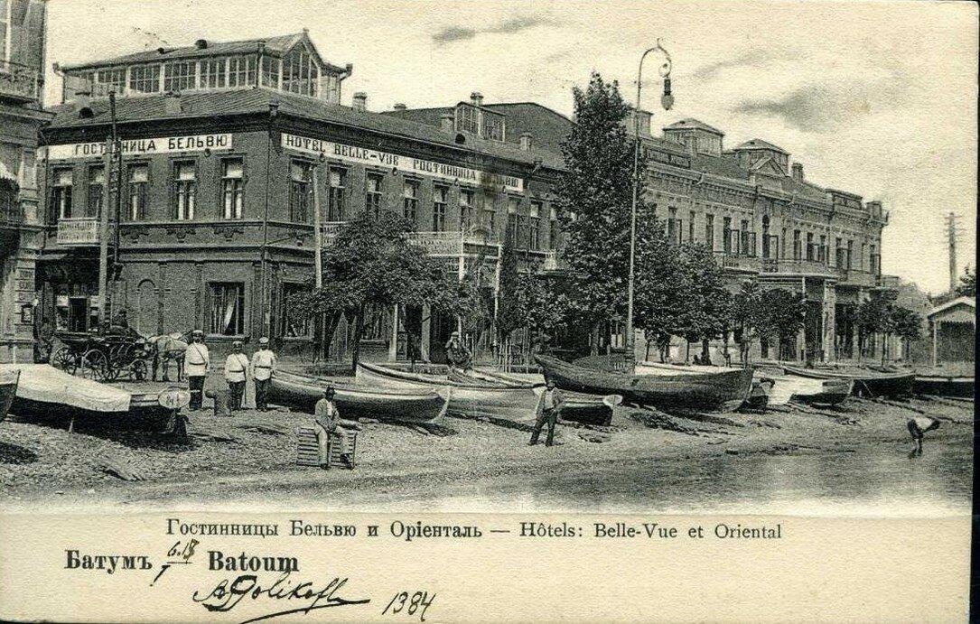 Гостиницы Бельвю и Ориенталь