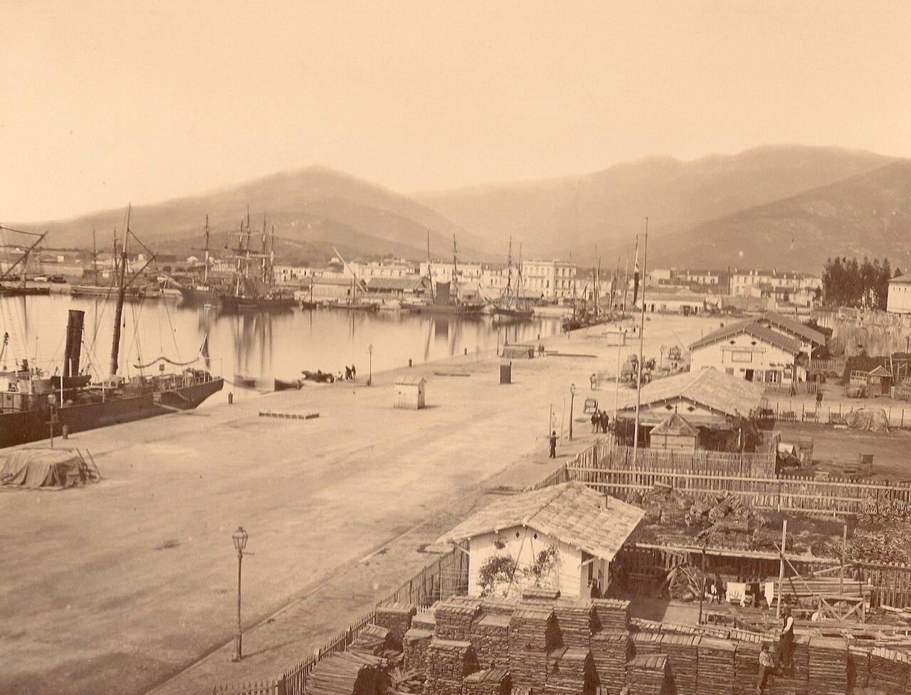 1878. Алжир. Порт.