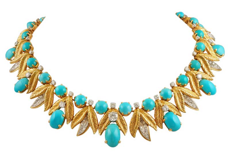 Tiffany co. Turquoise necklaces and