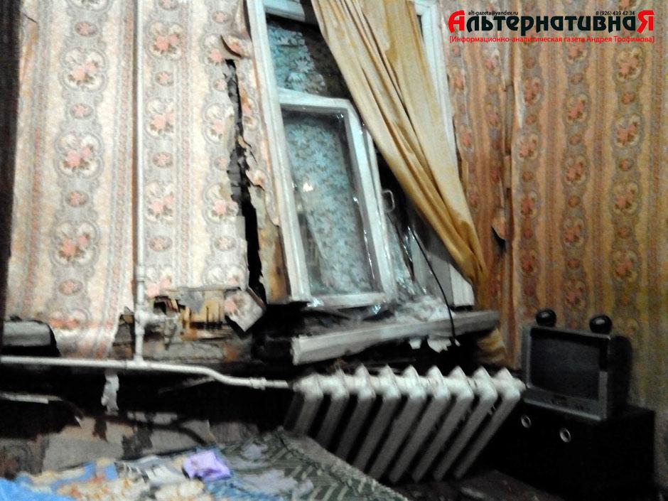 Водителя въехавшего в квартиру старушки задержали