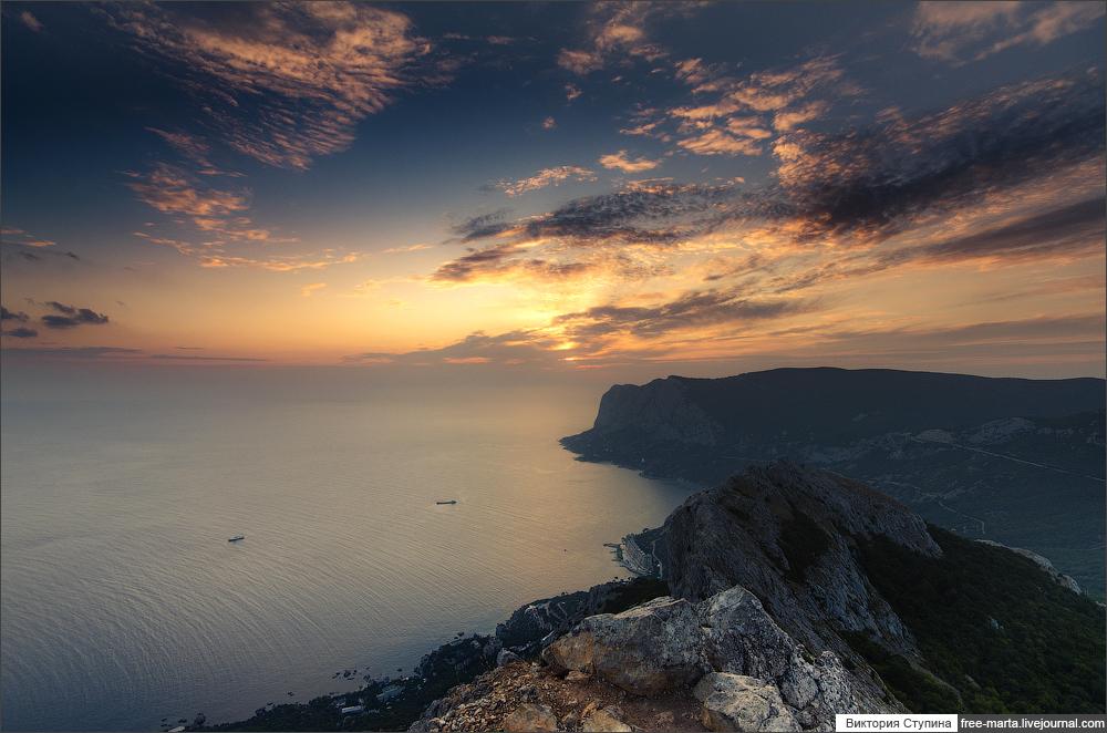 Закат на Ильяс Кая