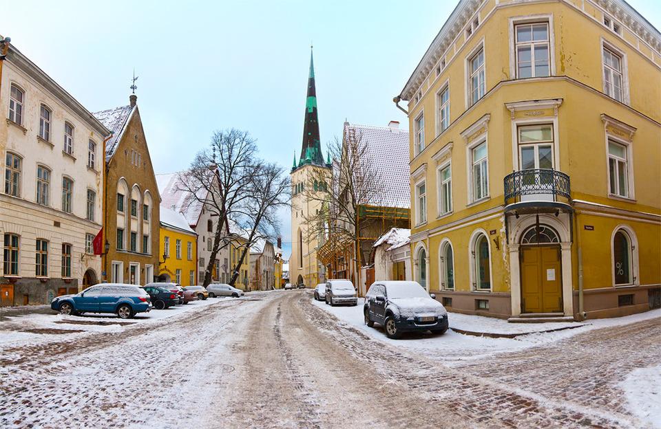 Зима в Таллине
