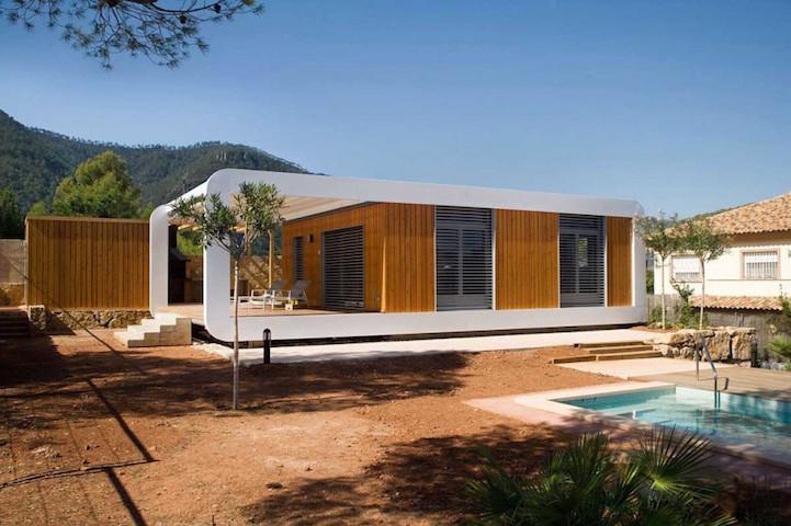 Сборный энергосберегающий дом