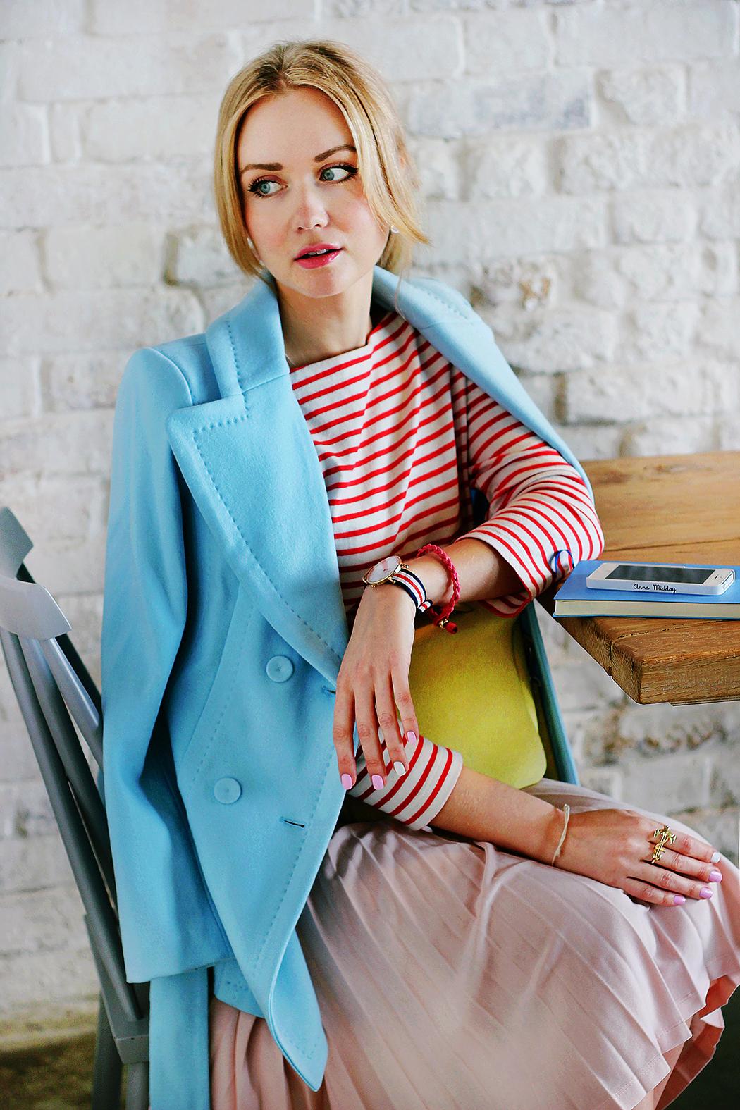 inspiration, pastel, marc cain, streetstyle, spring outfit, moscow fashion week, annamidday, top fashion blogger, top russian fashion blogger, фэшн блогер, русский блогер, известный блогер, топовый блогер, russian bloger, top russian blogger, streetfashion, russian fashion blogger, blogger, fashion, style, fashionista, модный блогер, российский блогер, ТОП блогер, ootd, lookoftheday, look, популярный блогер, российский модный блогер, russian girl, с чем носить пастельное пальто, французский стиль, girly, pastel coat, красивая девушка, русская девушка, fashion week, MBFW, Moscow Fashion Week 2015, Mercedes-Benz Fashion Week, SS 15 trends, spring 2015 trends