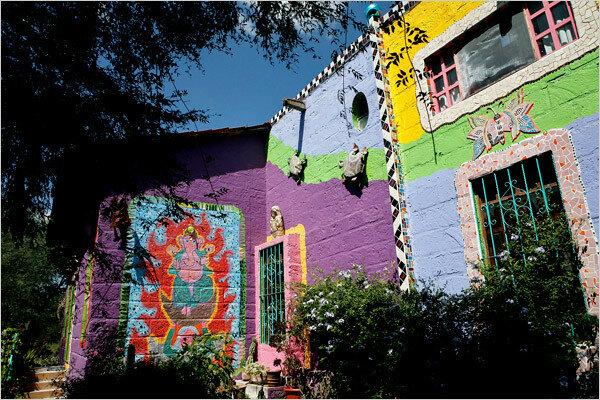 Его Теория Цветной Хаос. Мексиканский художник Анадо Маклохлин